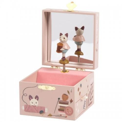 Moulin Roty Apres La Pluie Musical Jewellery Box