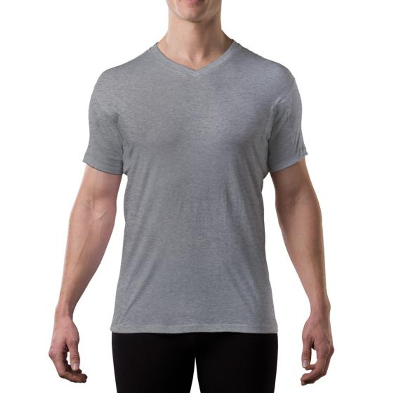 c513e90a49199 Men s Sweat Proof Undershirt - V-Neck - Original Fit