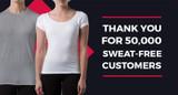Thompson Tee Helps 50,000 Customers Shield Underarm Sweat
