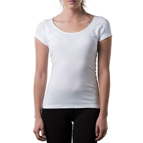 Womens Sweat Proof Undershirt Scoop Neck Original Fit