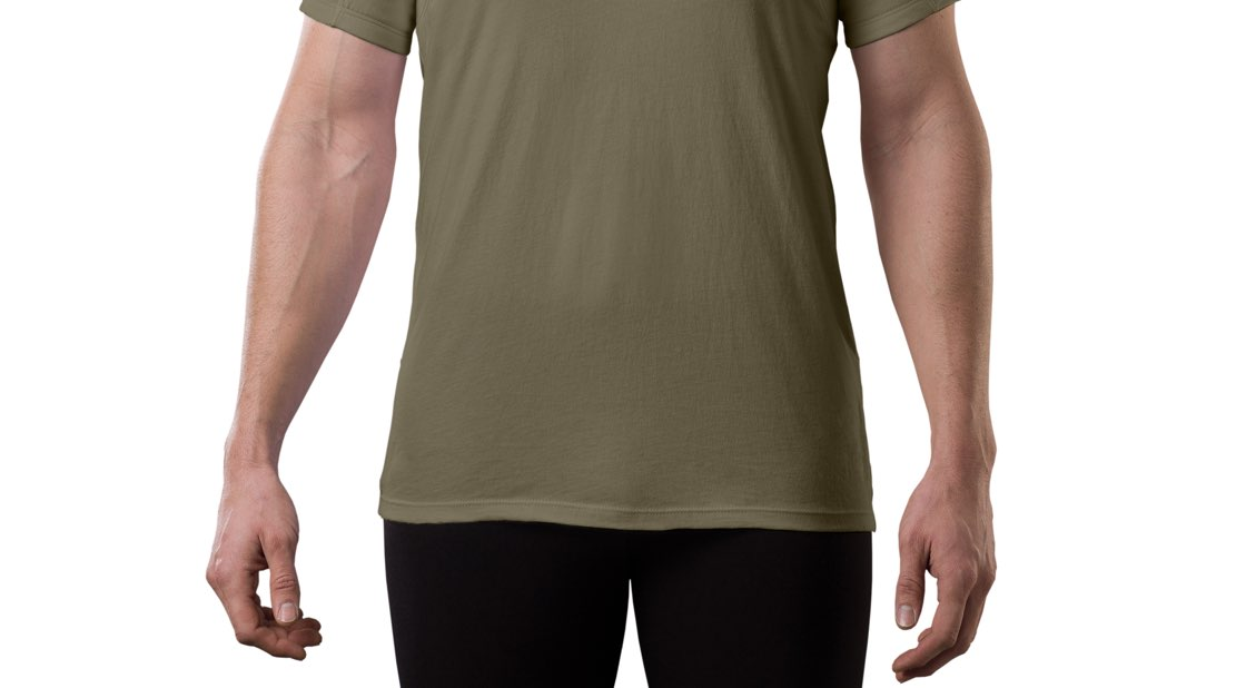 Tuckable Men's Original Fit Sweat Proof Military Shirts