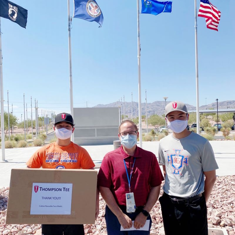 Donation to North Las Vegas VA Medical Center