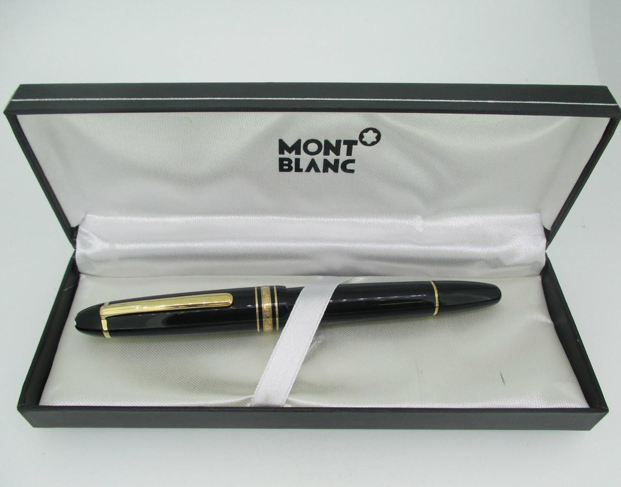 Vintage 14k Montblanc Meisterstuck 4810 Fountain Pen
