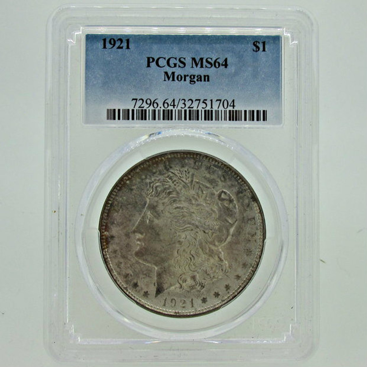 1921-P Morgan Dollar MS63 PCGS