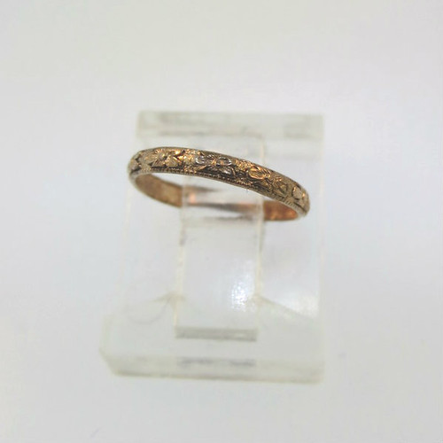 Mid 10k Uncas Baby Box Filled 1920s Vintage In Child Ring Gold f7gyYb6