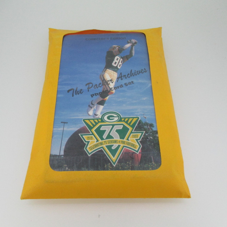 Green Bay Packers 75th Anniversary 1919-1993 Photo-Card Set of 40 (5002141)