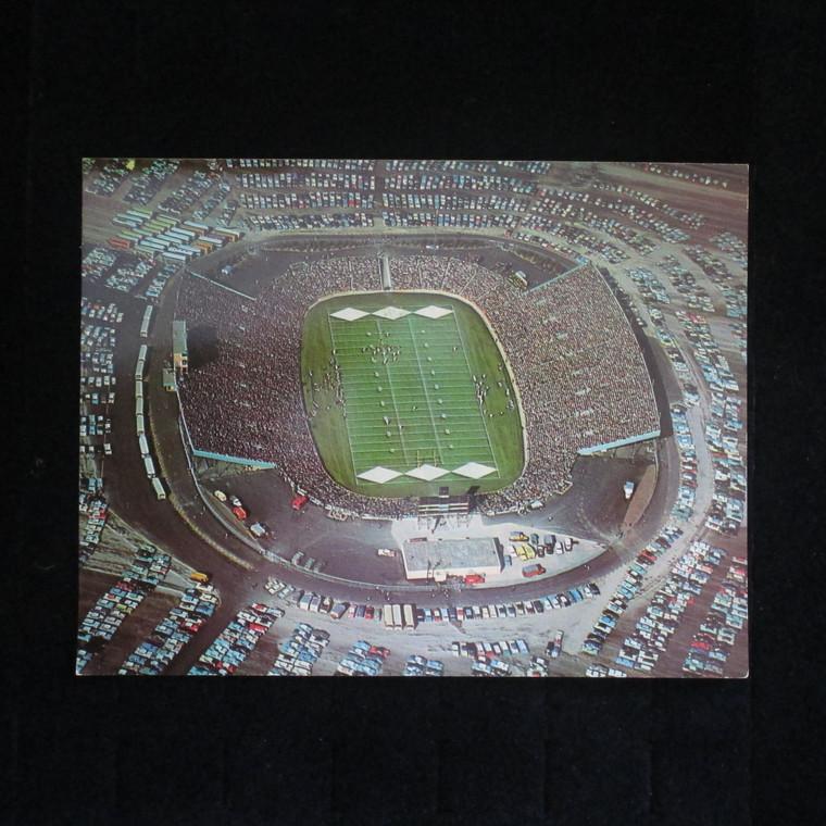 Vintage Color Photo Postcard Green Bay Packer's New City Stadium - Lambeau Field (5002273)