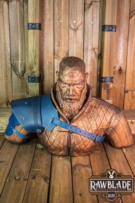 Warrior pauldron - Blue