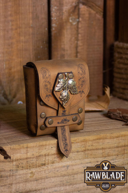 Lassel Pouch Small - Brown