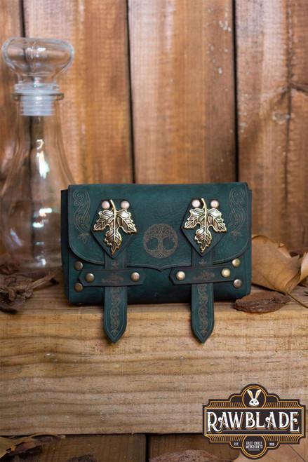 Lassel Pouch Big - Green by [product_brand] for €36.3 | Shop on Avothea Store