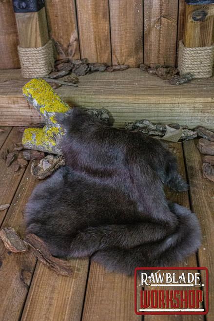 Rabbit fur, dark
