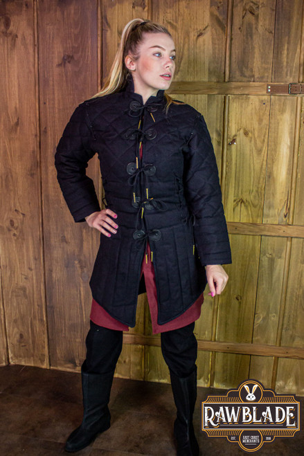 Morgause Gambeson Complete - Black