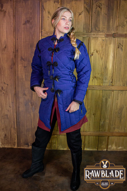 Morgause Gambeson Complete - Blue