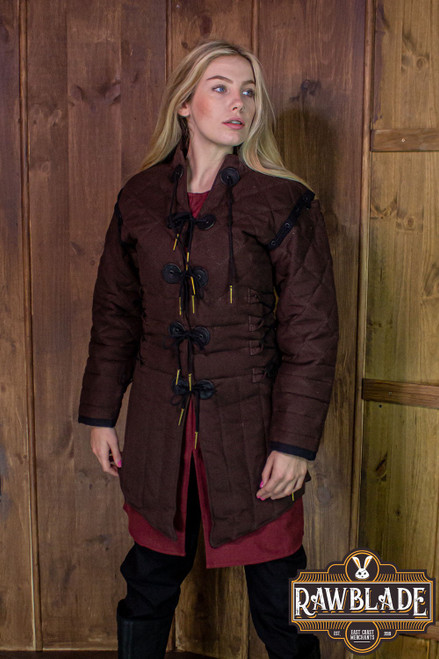 Morgause Gambeson Complete - Brown