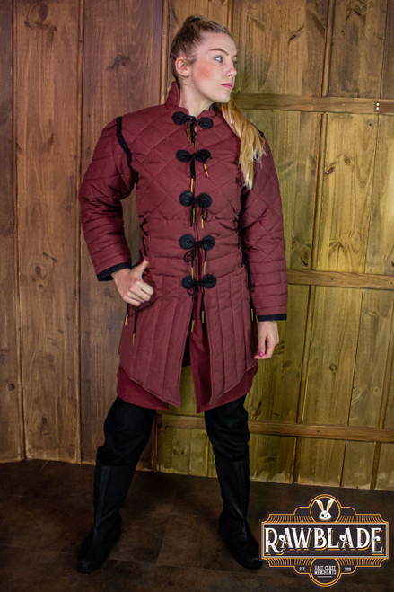 Morgause Gambeson Complete - Bordeaux