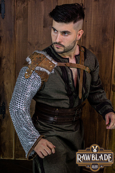 Freyr aluminium Chainmail sleeve by [product_brand] for €242 | Shop on Avothea Store