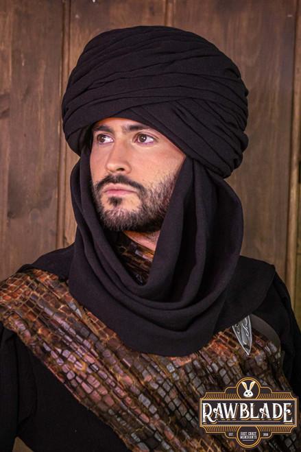 Hamtar Turban Black