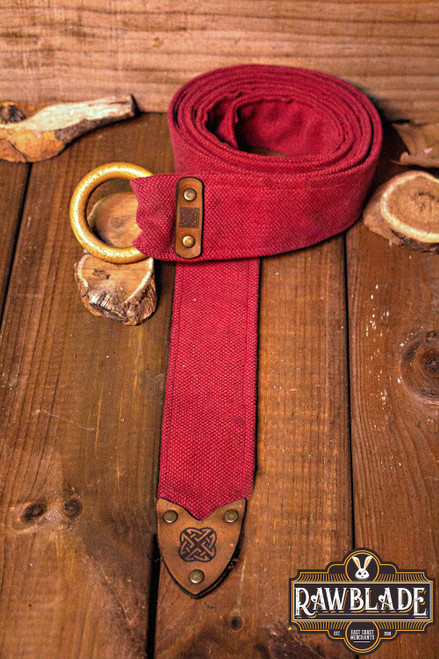 Etain Belt - Red by [product_brand] for €15.6   Shop on Avothea Store