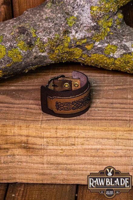 Beleriand Leather Bracelet