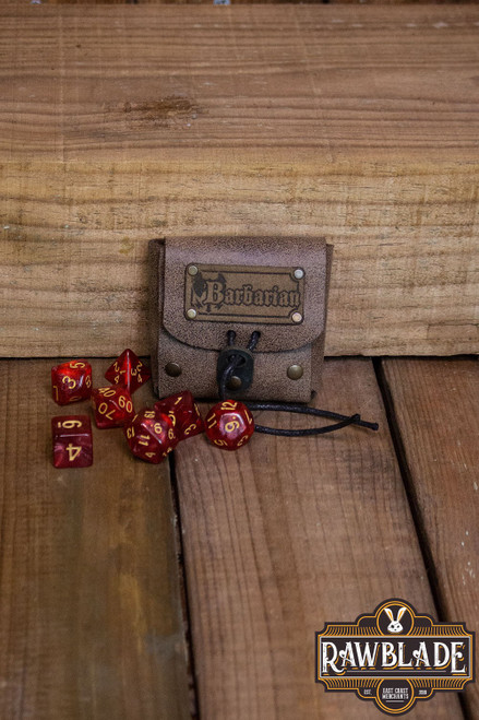 Dice Bag - Barbarian