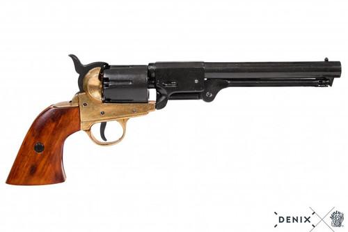 Denix Confederate Revolver - Black - USA - 1860