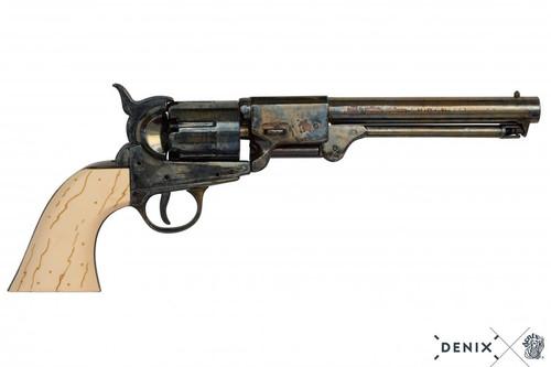 Denix Confederate Revolver - White - USA - 1860