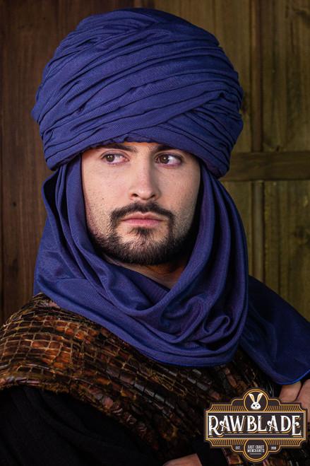 Hamtar Turban Blue