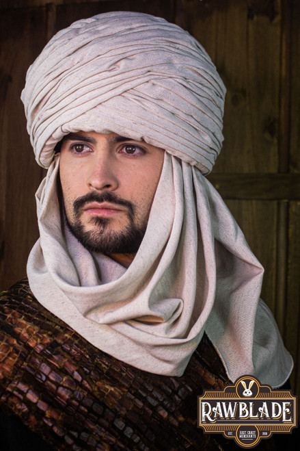 Hamtar Turban White