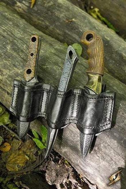 Rogue Knife Set Holder - Black