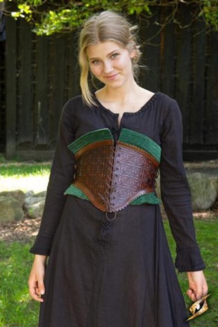 Corset Margot - Dryad Green