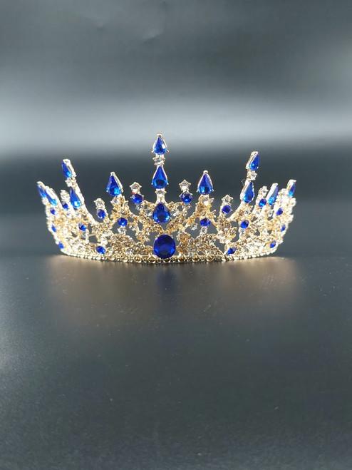 Avothea tiara Anastasia blue.