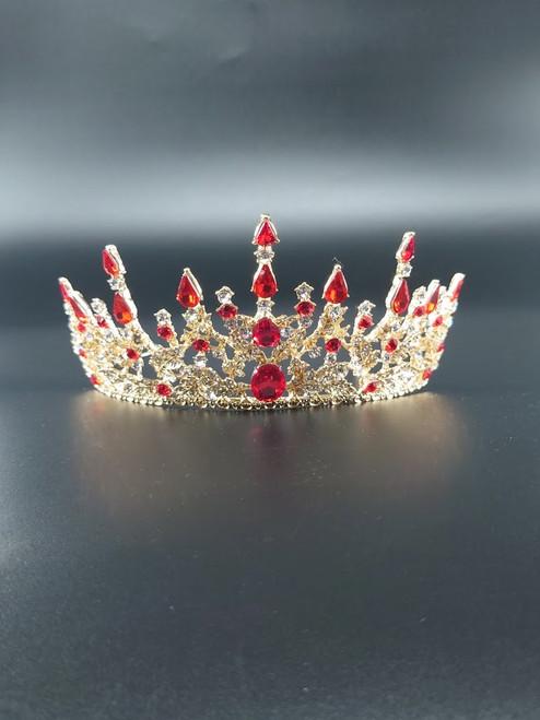 Avothea tiara Anastasia red.