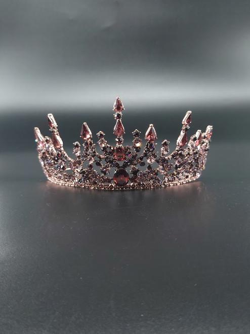 Avothea tiara Anastasia bronze.