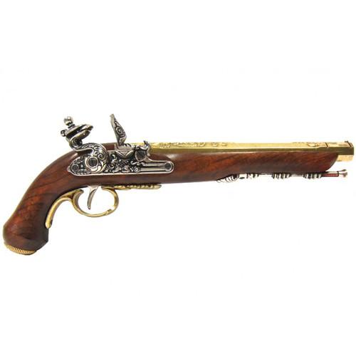 Denix Duel Flintlock Pistol - Gold
