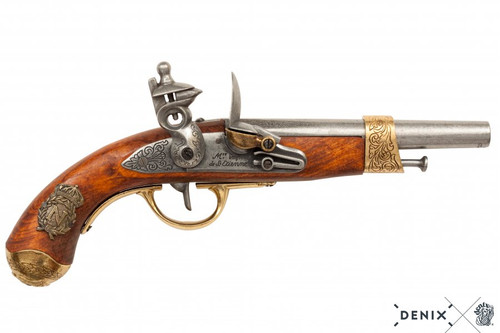 Denix Napoleon's Flintlock Pistol - France - 1806