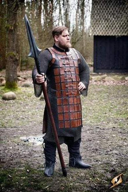 Leather Brigandine - Brown