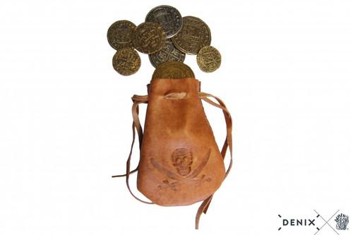 Denix Leather Coin Bag