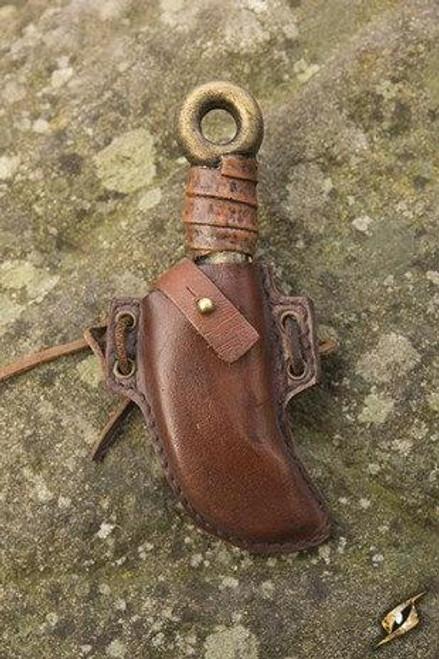 Skinner Knife Holder - Brown