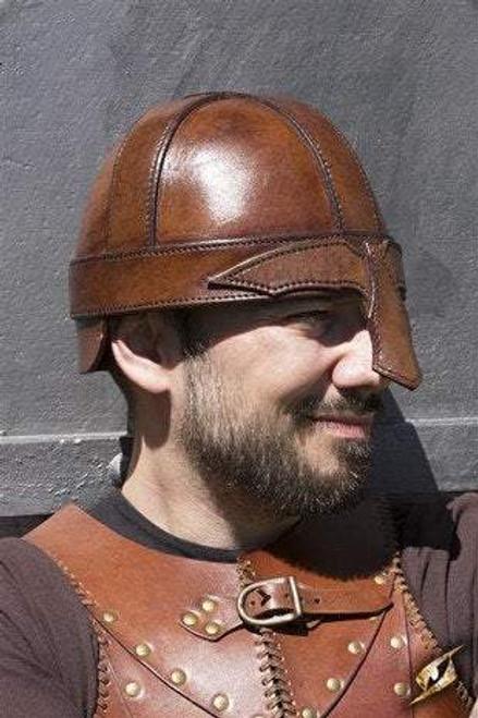 Warrior Helmet - Brown