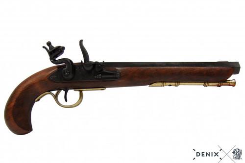 Denix Kentucky Flintlock Pistol - USA - Black