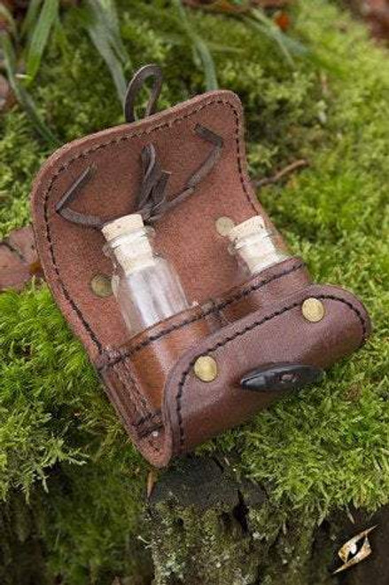 Potion Holder 2 Pieces - Brown