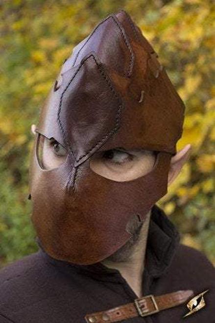 Assassin Helmet - Brown