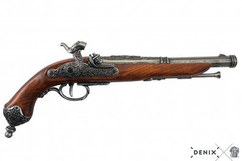 Denix Percussion Pistol - Italy - Grey - 1825