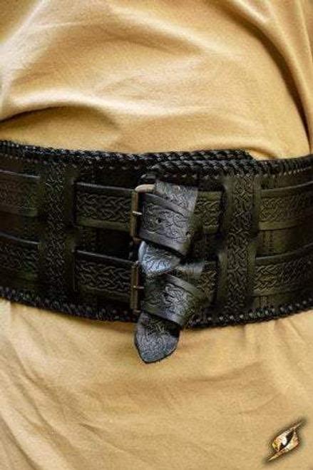 Barbarian Belt - Epic Black