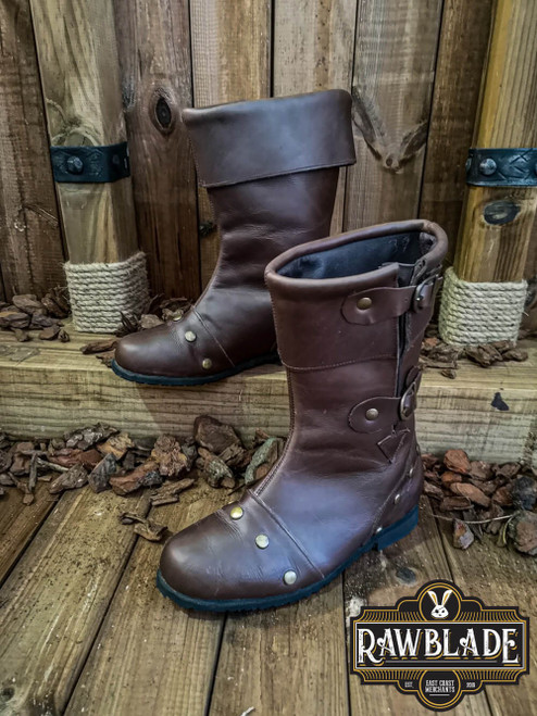 George Reinforced Boot - Brown