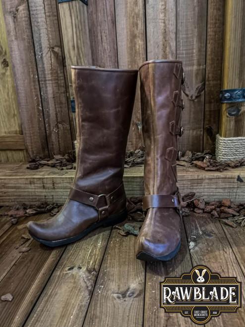 Jarek Cavalry Boots - Brown