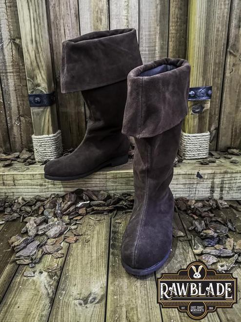 Neverman Adventurer Boots Splitleather - Brown