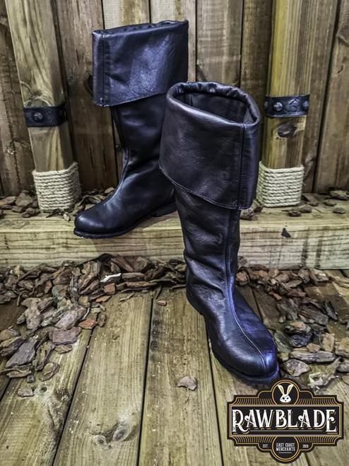 Neverman Adventurer Boots Leather - Black