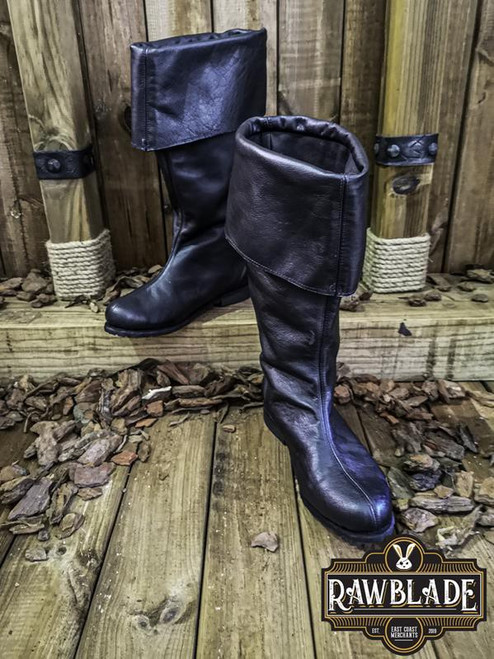 Neverman Adventurer Boots Leather - Black by [product_brand] for €108.8 | Shop on Avothea Store