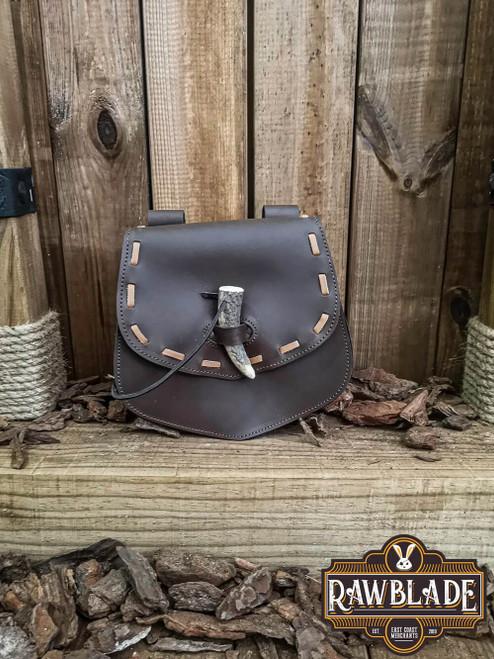 Cymerian Leather Bag - Brown